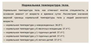 Держится температура у ребёнка в 9 месяцев