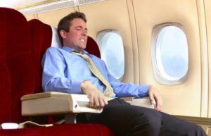 Можно ли перелет на самолете при перенесён ном отите