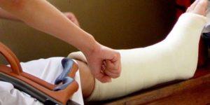 Дергается нога в гипсе после перелома