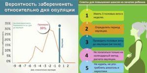 Вероятность беременности при незащищенном па в период овуляции