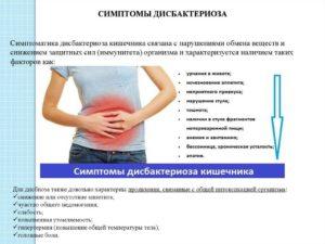 Дисбактериоз кишечника, урчание в животе