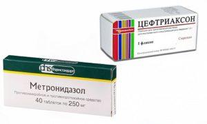 Метронидазол, цефтриаксон и беременность