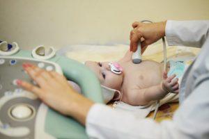 Узи сердца у новорождённых