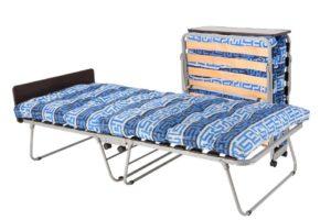Можно ли спать ребенку на панцерной раскладушке с матрасом
