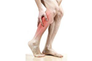 Вибраций в ногах, снижение чувствительности стоп, напряжение в икроножных мышцах