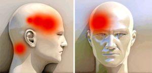Давление на глаза, болит шея