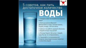 Влияет ли количество выпитой жидкости на тест