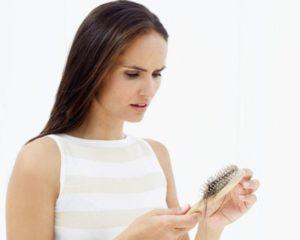 Выпадение волос во время приема Клайры