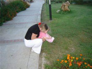 Дочка очень сильно плачет перед тем как пописать