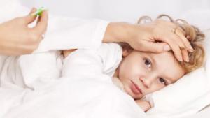 Держится температура у ребенка больше 3-х недель