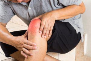Внезапная острая боль в колене