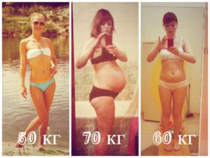 Вес встал после родов