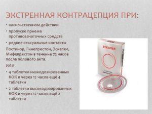 Экстренная контрацепция после дефлорации?