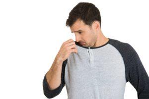 Ужасный запах пота