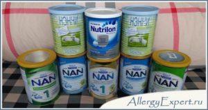 Выбор смеси при атопическом дерматите
