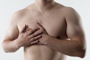Давящая ноющая боль в правой груди у мальчика