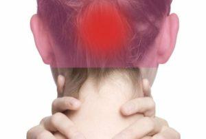 Напряжение по всей правой части тела, включая голову