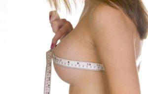 В 21 год грудь 1-го размера и больше не наблюдался рост