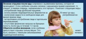Высокая температура и отрыжка у ребенка