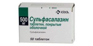 Может ли от сульфасалазина болеть голова?