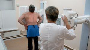 Можно ли делать рентген грудного отдела позвоночника при мастопатии?