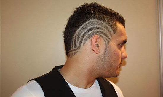 Волосы по бокам на голове
