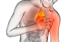 Дерганье в районе сердца