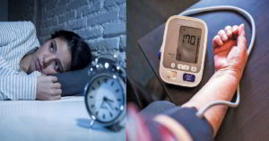 На ночь повышается давление 190 на 115 и держится до утра