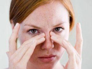 Чешется и болит глаз при синусите