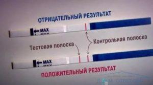 Вероятность беременности (тесты отрицательные)