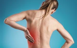 В области ребра боль и в спине
