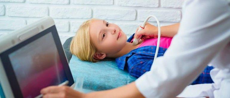 Узи щитовидной железы у 2-х летнего ребёнка