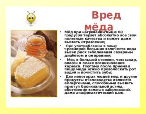 Можно ли ребёнку кушать мёд? Польза/вред