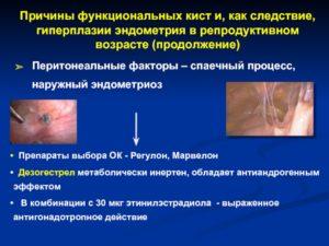 Эндометрит, регулон