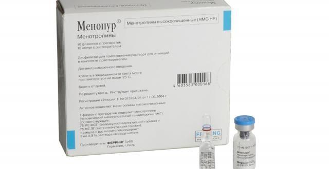 Менопур уколы